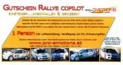 Gutschein Rallye Copilot