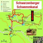 Karte-Schwemmkanal