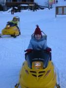 110-1038 IMG ... Warm-Up für das Ski-Doo Rennen ...