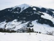 110-1067 IMG ... Blick auf Hinterglemm mit dem Schattberg im Hintergrund ...