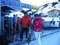 Highlight for album: Skiurlaub in Hinterglemm 2011