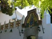 108-0860_IMG ...Männerkloster am Berg von Palaiokastritsa mit romantischer Küstenansicht