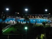 117-1799 IMG ... abendliche Poollandschaft des Corissia Beach Hotel
