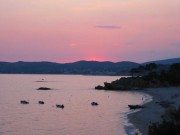 Thassos-Sonnenuntergang