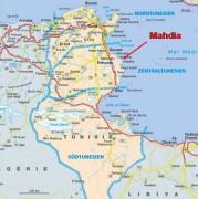 Tunesien-Map