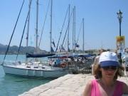 113-1311 IMG...Blick auf einen Teil des Hafens von Zante...