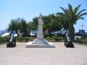 113-1313 IMG...Solomos-Platz mit der Freiheits-Statue...