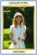 Erstkommunion Claudia 2003