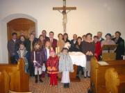110-1009x_img...Gruppenfoto der Hl. Taufe 22.11.2003 in der Pfarre Donaufeld